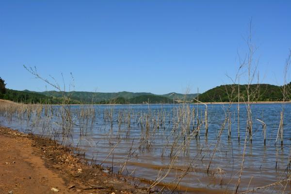Chinesischer See Anfang Juni 2013.