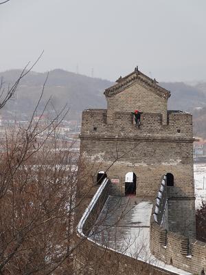 Turm in der chinesischen Mauer - Great Wall.
