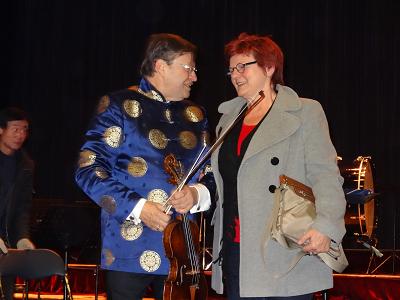 Kleiner Plausch mit dem Dirigenten Attila Szabo